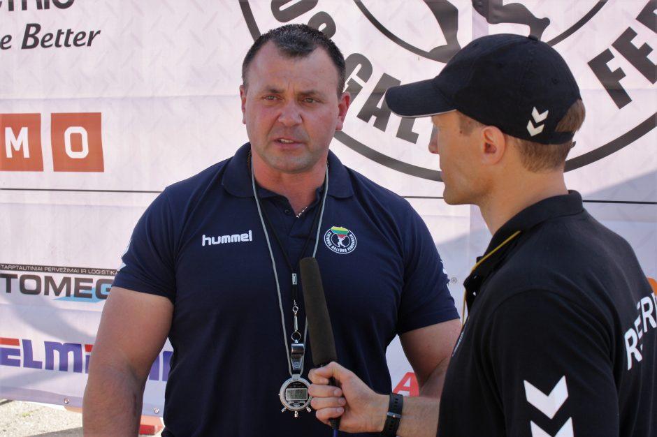 Galiūnų varžybų Kaune