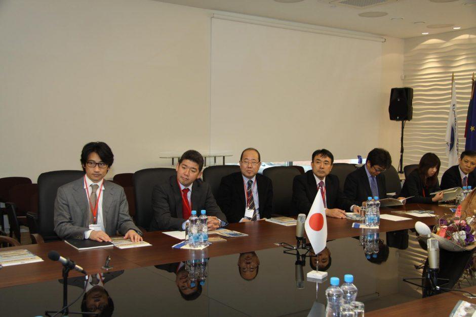 Klaipėdos uoste – Japonijos kompanijų atstovų vizitas