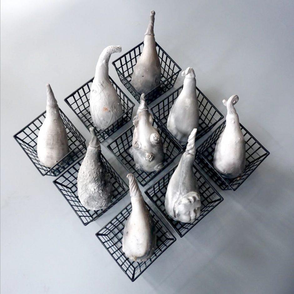 Keramikų parodoje – amžinas gamtos ratas