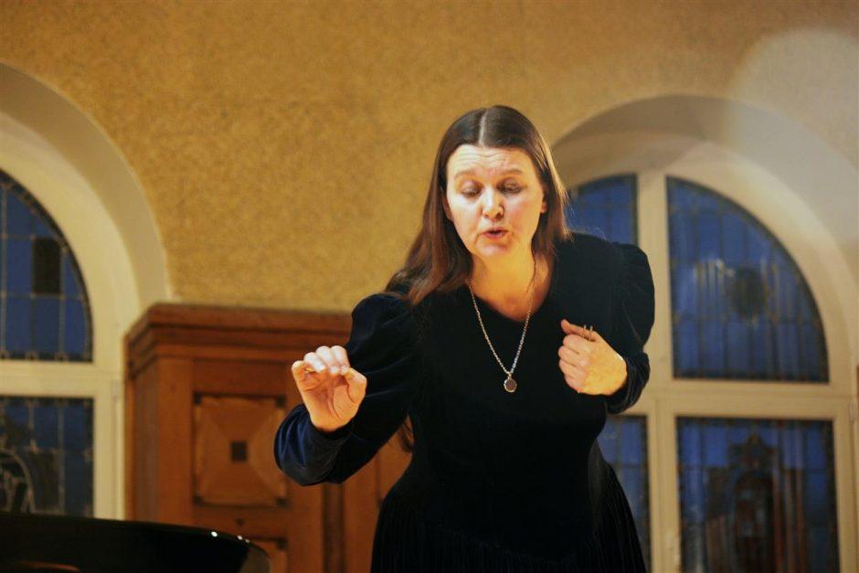S. Trimakaitės koncertas – Klaipėdos universiteto koncertų salėje