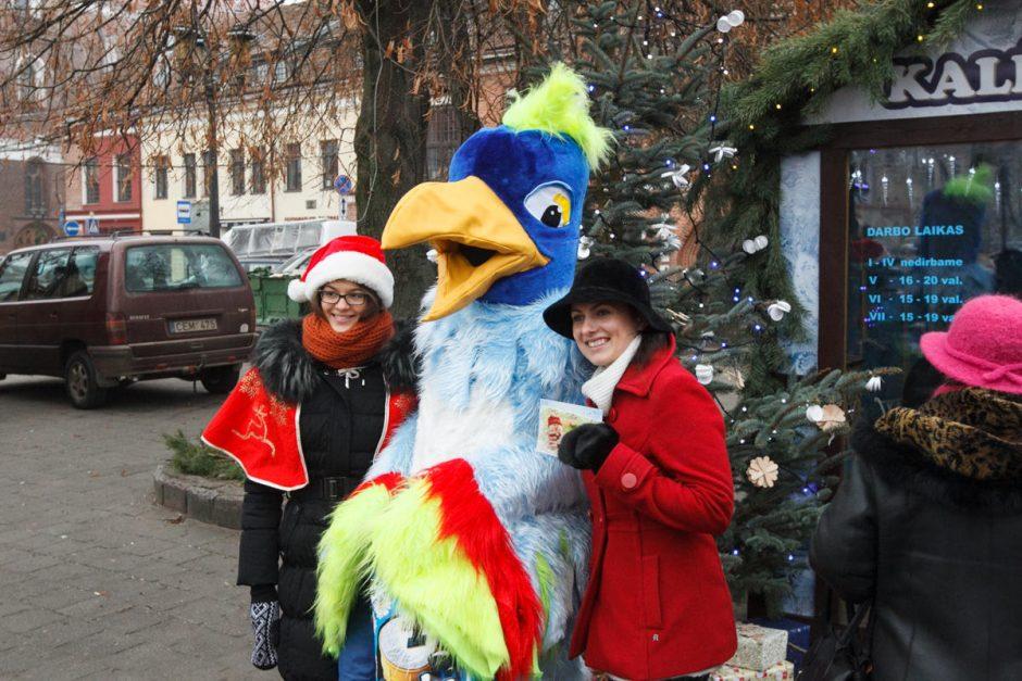 Debesų eglė padiktavo kalėdinio miestelio stilių