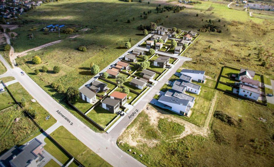 Vilniuje kils didžiausias namų kvartalas nuo krizės laikų