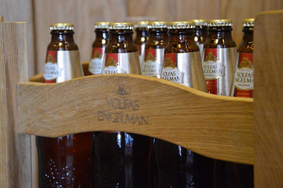 """Bravoras """"Volfas Engelman"""" kviečia grąžinti tuščius pintos butelius"""