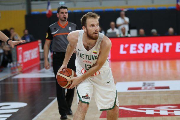 Lietuvos krepšinio rinktinė Prancūzijoje patyrė antrą nesėkmę