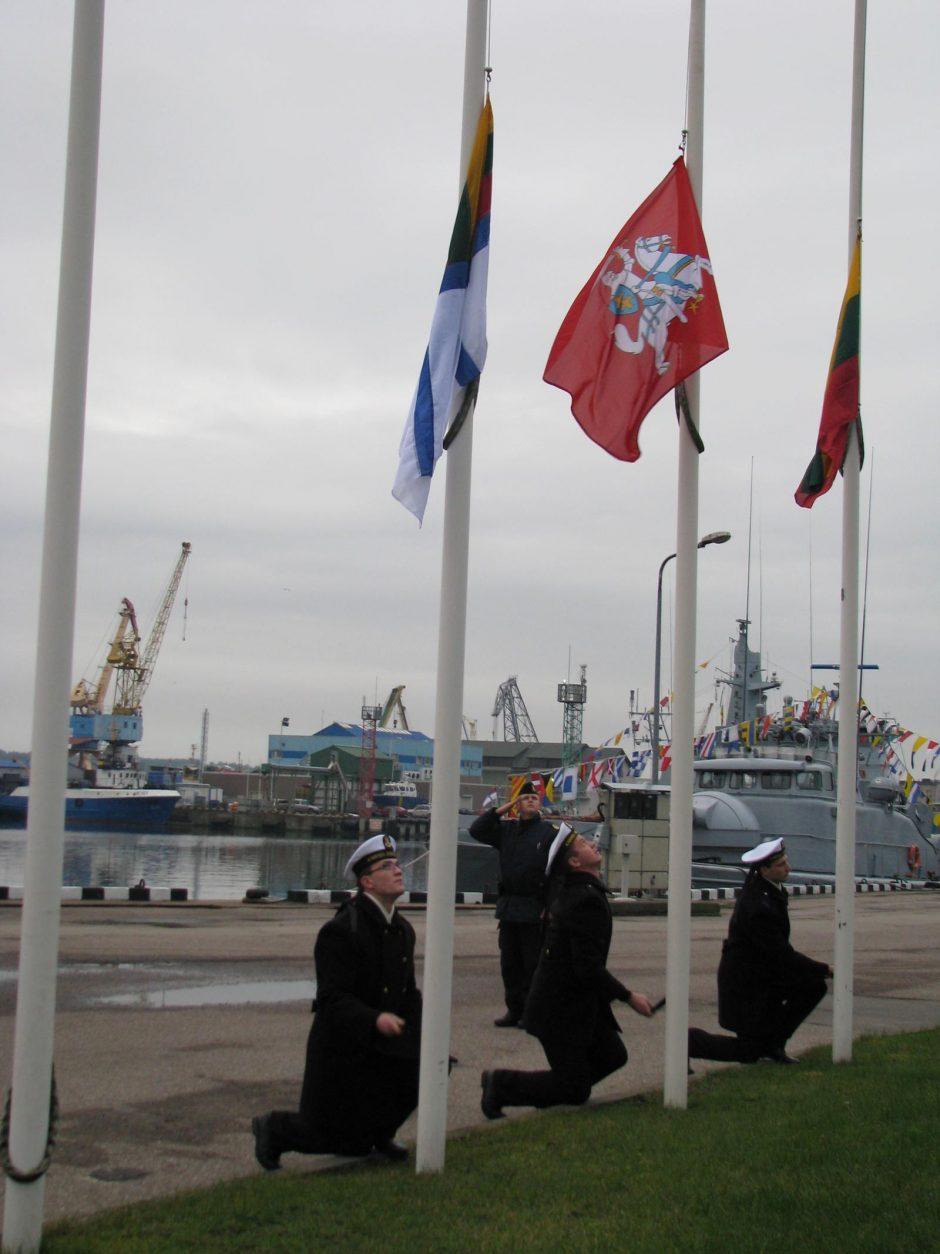 Klaipėdoje paminėta Lietuvos kariuomenės atkūrimo diena