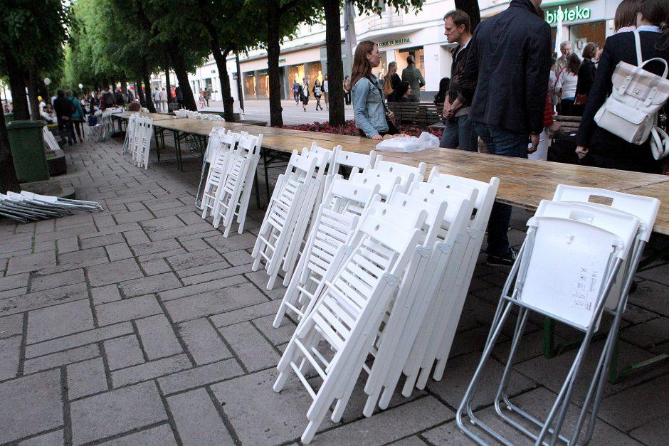 Laisvės alėjoje ir vėl nusidrieks ilgiausias stalas: kas vyks šiemet?