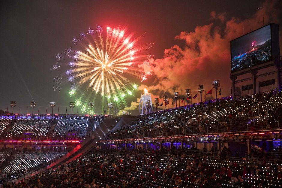 Pietų Korėjoje prasidėjo žiemos parolimpiada