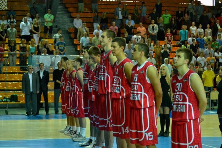 LSU komandos jėgas išbandys su JAV universitetų krepšininkais