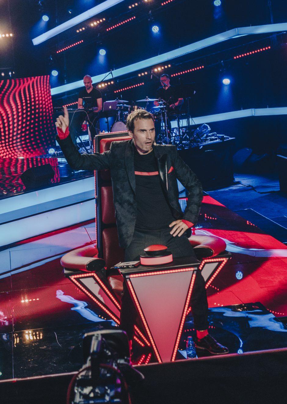 """Projekte """"Lietuvos balsas. Vaikai!"""" – šokiai ant  kėdžių ir M. Jankavičiaus repas"""