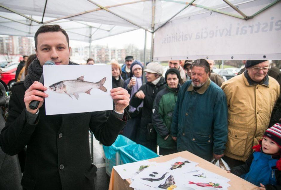 Vilniečiai ragavo rekordinį kiekį žuvienės