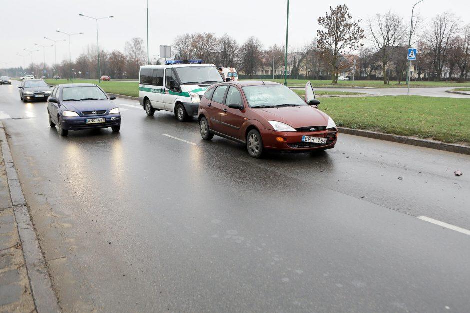 Klaipėdos gatvėse – netikėtos avarijos