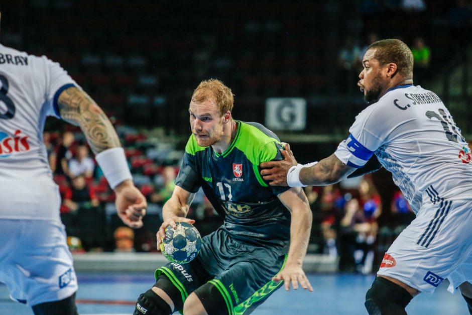 Lietuva - Prancūzija (Europos čempionato atranka)