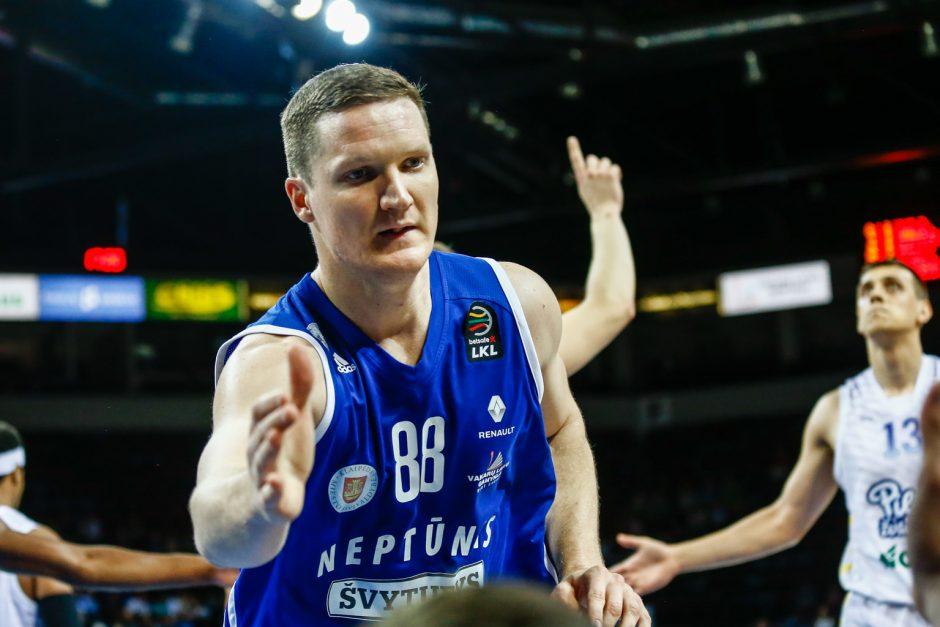 """V. Šulskio vedamas """"Neptūnas"""" išsiveržė į priekį ketvirtfinalio serijoje"""