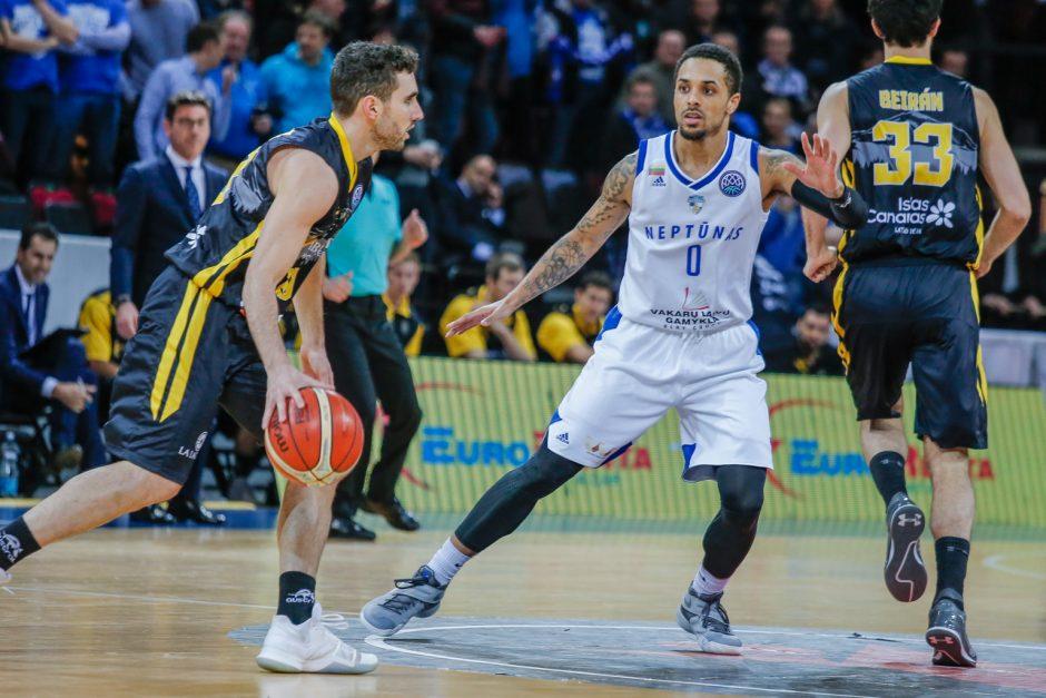 """""""Neptūnui"""" nepavyko įveikti FIBA Čempionų lygos nugalėtojų"""