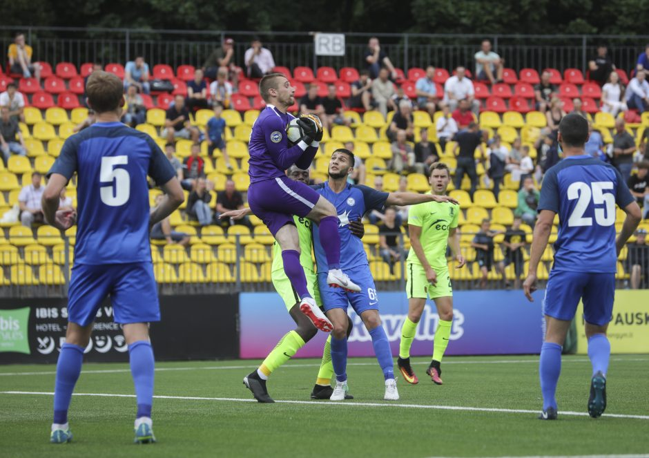 """UEFA Europos lygos atranka: """"Trakai"""" - """"Irtyš"""" 0:0"""
