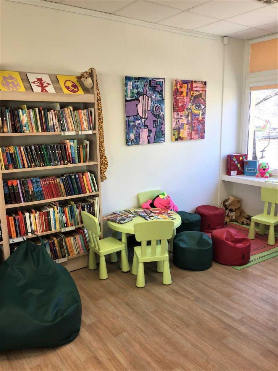 Neries biblioteka atidaryta naujose patalpose