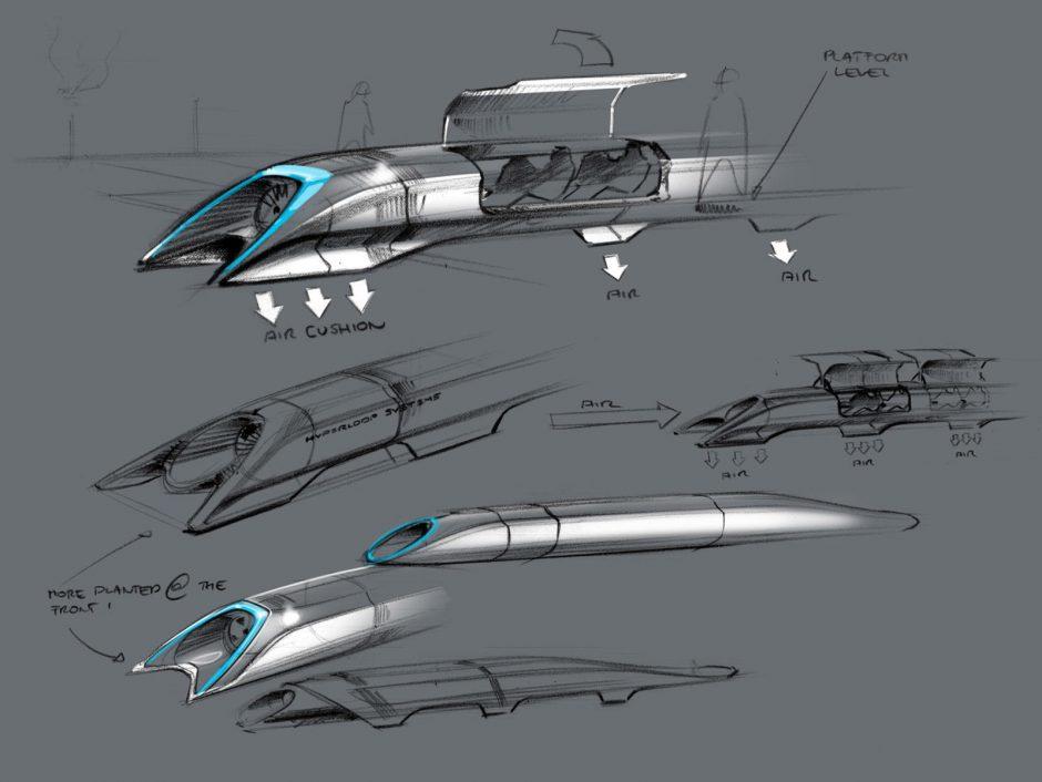 JAV pristatytas itin greito viešojo transporto projektas