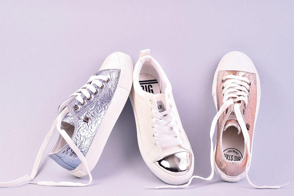 Į vasarą – madingais batais