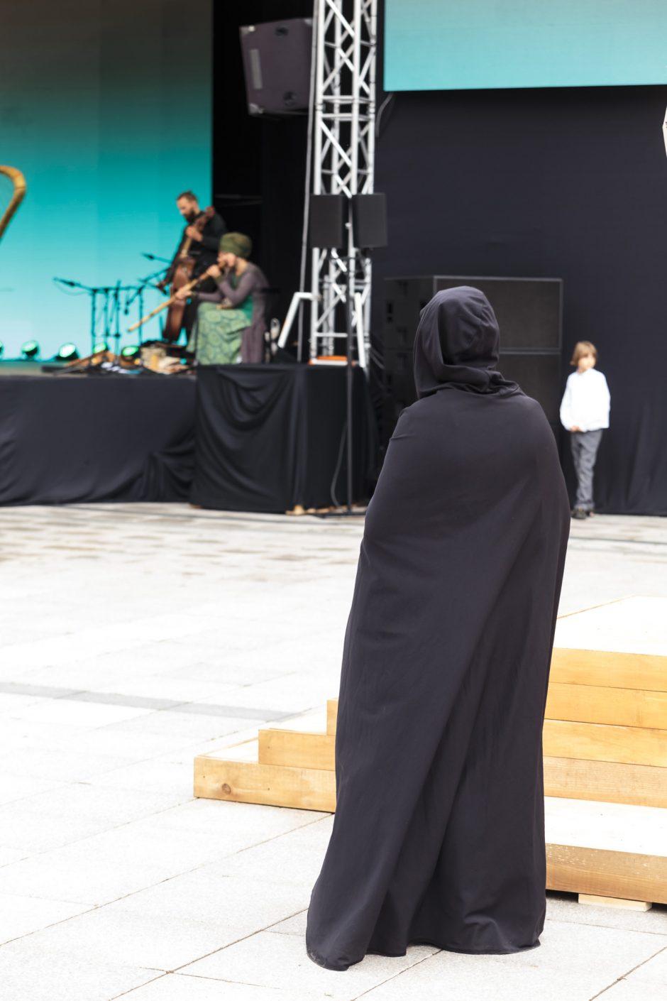 Teatrų dieną vainikavo vaikų pasirodymai
