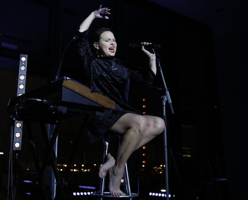 Justė Arlauskaitė-Jazzu vilniečiams dovanojo paskutinį metų koncertą