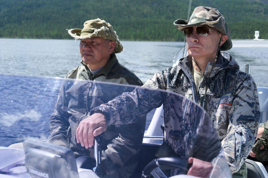 Rusijos tinklaraštininkai reiškia abejones dėl Rusijos prezidento V. Putino sugautos lydekos svorio
