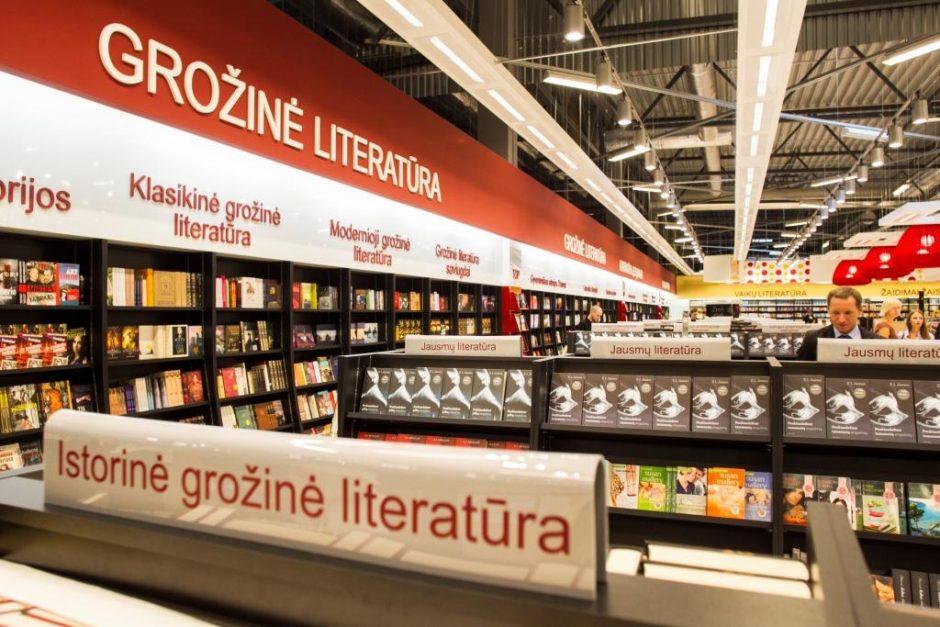 Didžiausi knygų namai Baltijos šalyse įsitaisė beveik 3 tūkst.kv.m plote