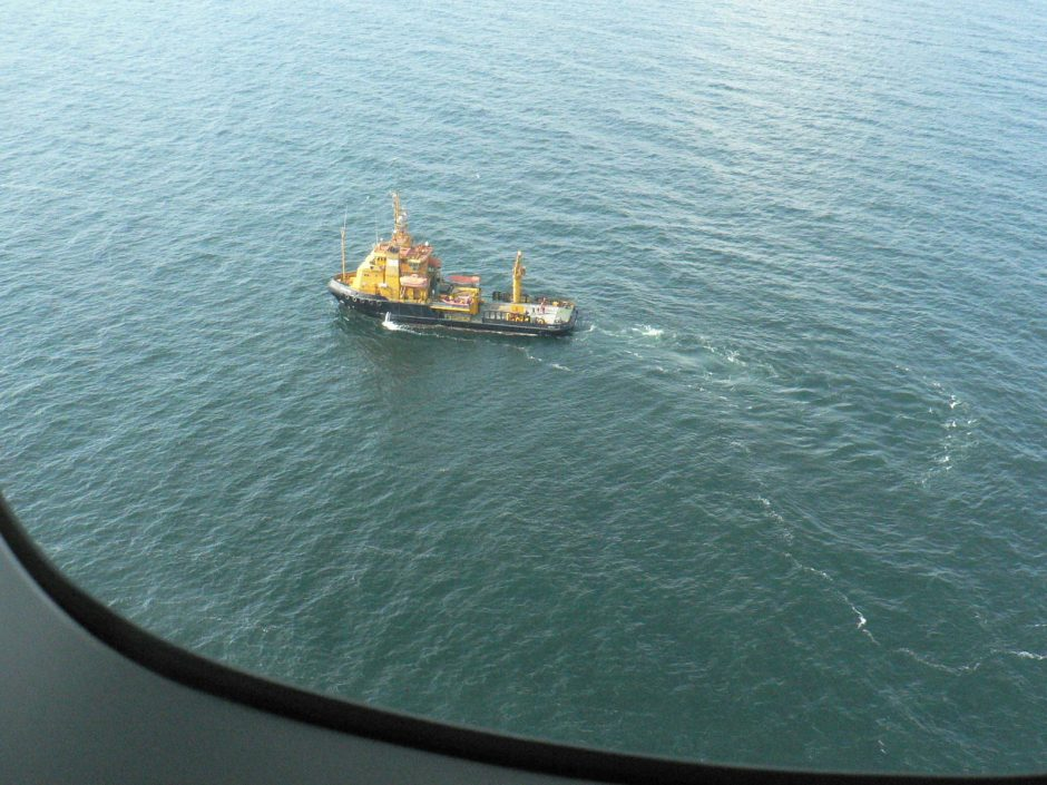 Baltijos jūroje - taršos likvidavimo pratybos