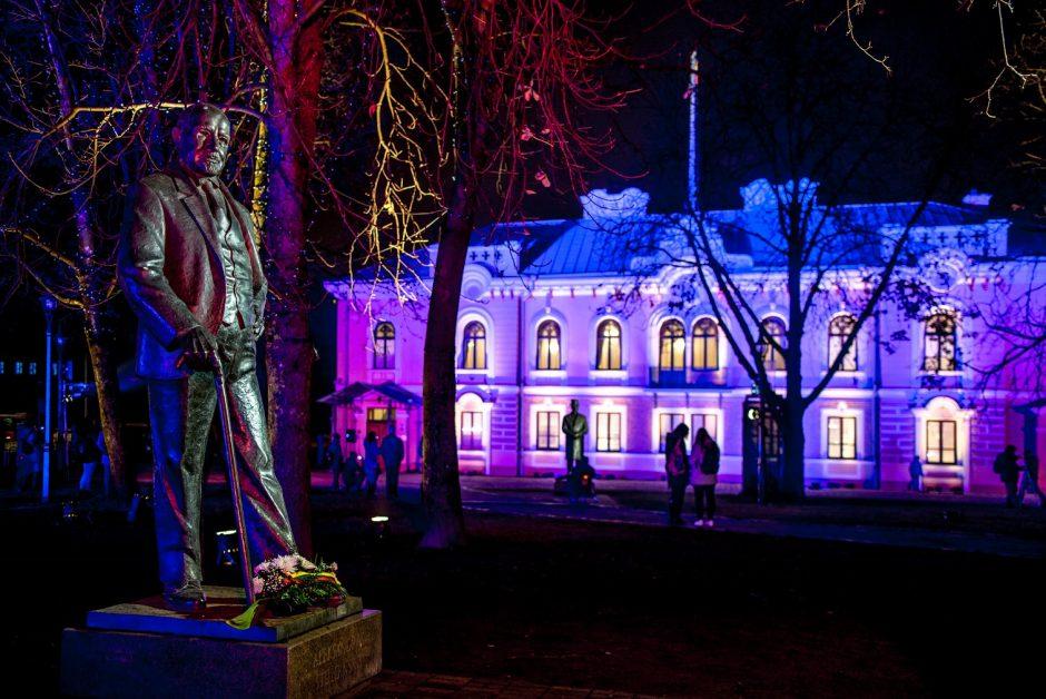 Kaune – kalėdinis šviesų sprogimas