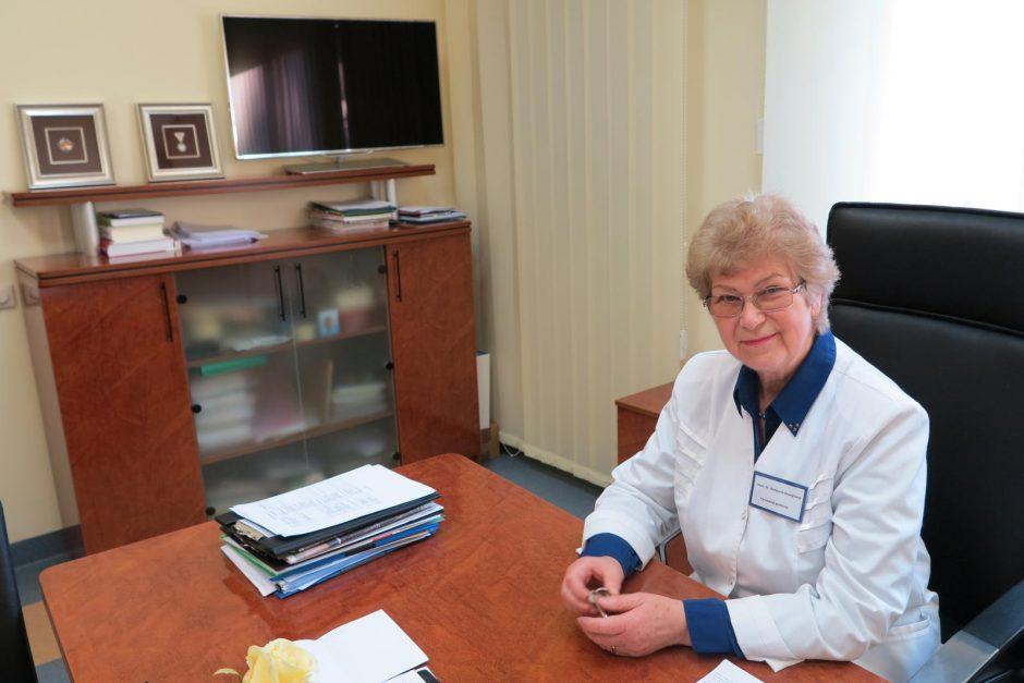 Klaipėdos medicininės slaugos ligoninėje – kova už gyvenimą