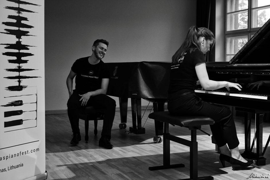 """Festivalį """"Kaunas Piano Fest"""" vainikuos nemokami koncertai išskirtinėse erdvėse"""