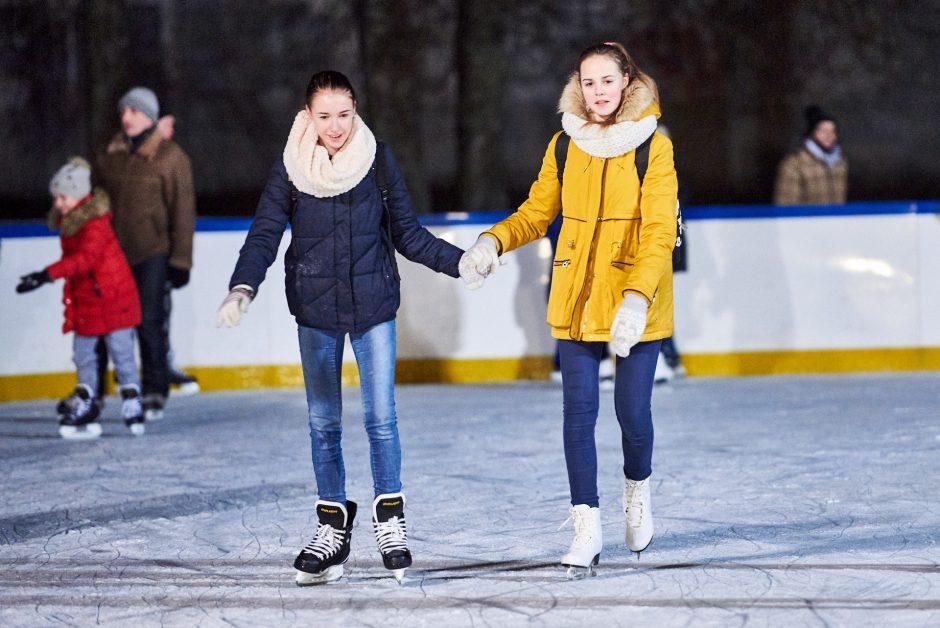 Derybos pavyko: Santakos čiuožykla Kaune veiks ilgiau