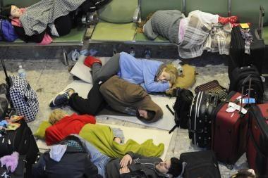 Užkeiktos Kalėdos arba kaip oras lietuviams trukdo sugrįžti namo