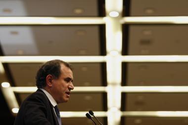 Pasaulio ekonomikos forumo dalyviai optimizmu netrykšta