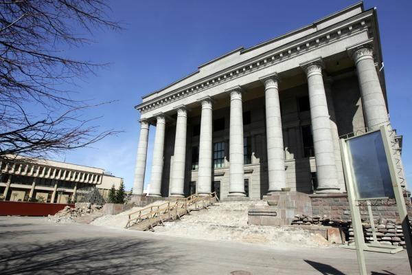 Vyriausybė raginama baigti Nacionalinės M.Mažvydos bibliotekos rekonstrukciją