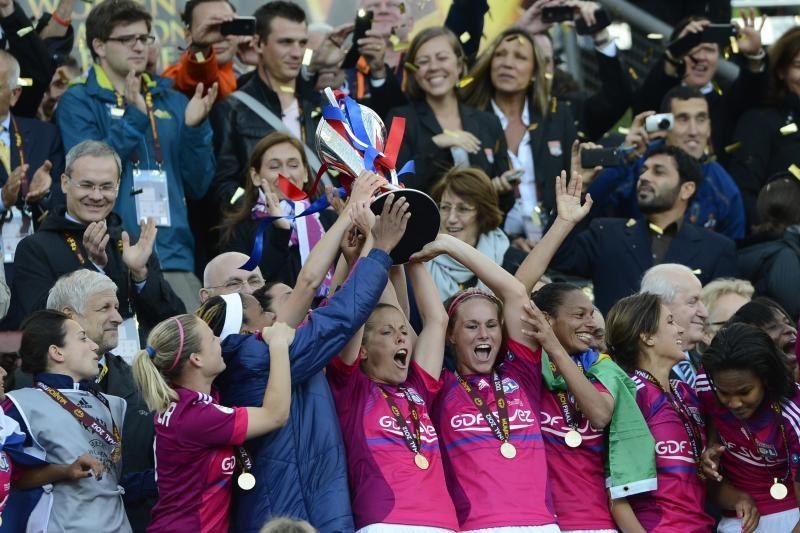 """UEFA moterų Čempionų lygoje triumfavo """"Olympique"""""""