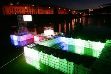 Kino peržiūros Vilniaus tema  užbaigiamos studentų darbais