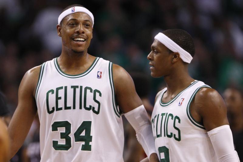 """R. Rondo trigubas dublis """"Celtics"""" padėjo įveikti """"Hawks"""" (top10)"""