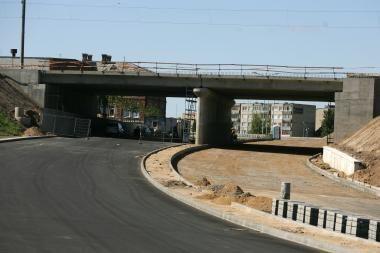 Vilniuje bus įrengtas 150 metrų ilgio tunelis