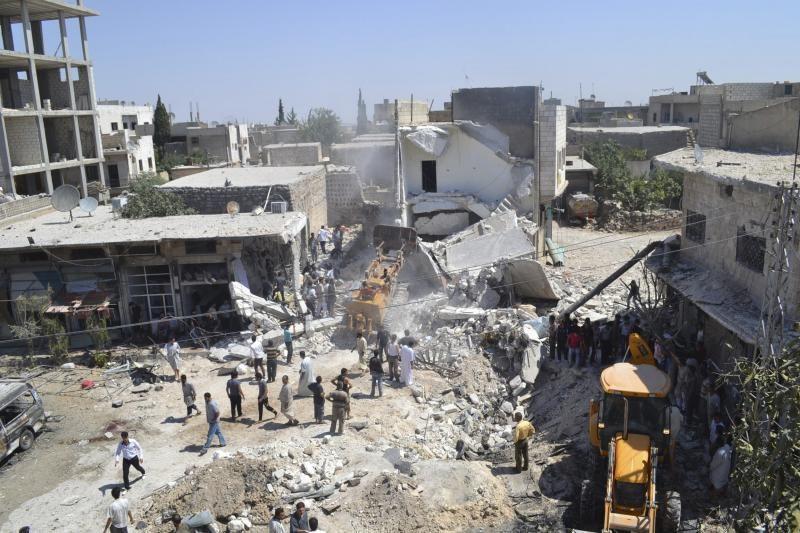 Damaske susprogdinta saugumo pajėgų vadavietė