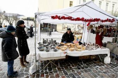 Klaipėdos senamiestyje – šventinis šurmulys
