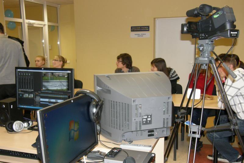 Būsimiesiems žurnalistams KU - moderni medijų laboratorija