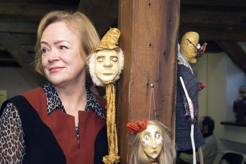 Klaipėdos lėlių teatras rengia ekskursijas po savo 20-mečio parodą