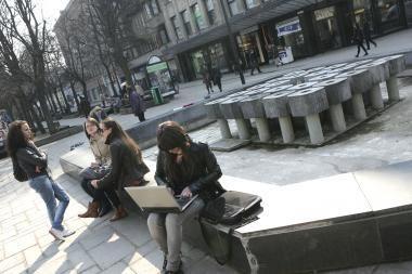 Penktadienį pradės veikti Kauno fontanai