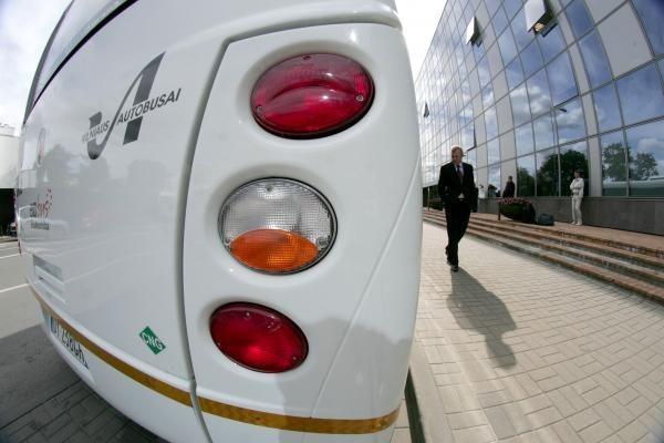 Vilniaus senamiesčiu nuo rudens važinės autobusai