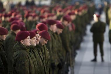Lietuvos kariai rinksis į paradą