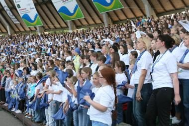 Klaipėdiečius kvies dainų šventė (programa)