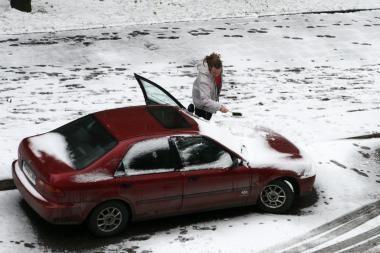 Uostamiestis sulauks sniego ir lietaus