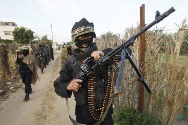 """""""Hamas"""" nutraukė paliaubas su Izraeliu"""