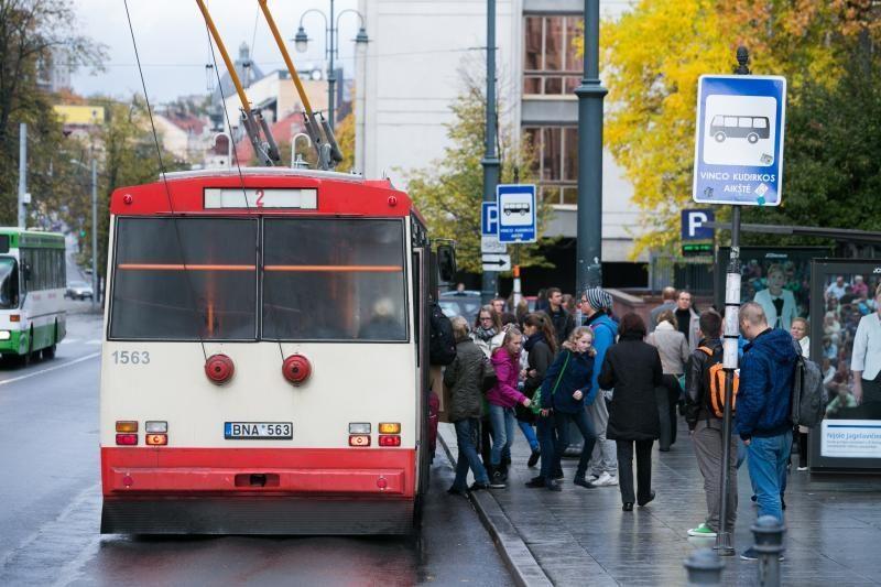"""""""Vilniaus viešojo transporto"""" darbuotojai: streikas bus"""