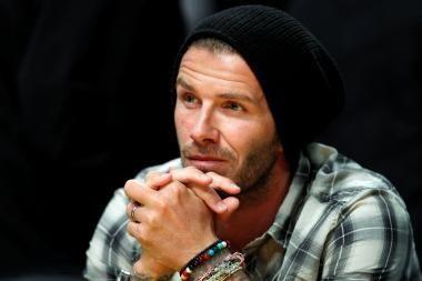 D.Beckhamui vietos Anglijos rinktinėje nebeatsiras
